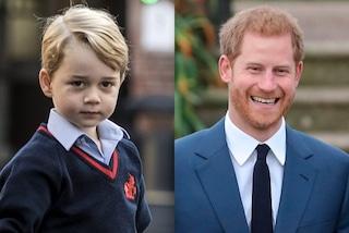 Ecco perché il principe Harry e il piccolo George non vengono mai fotografati insieme