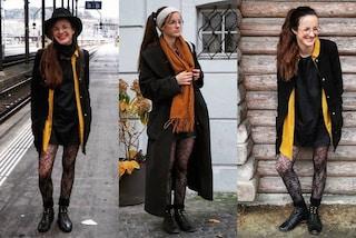 """Indossa sempre lo stesso vestito per un anno, così la """"eco-influencer"""" combatte gli sprechi"""