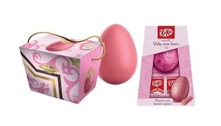 Arriva l'uovo di Pasqua rosa: ecco che sapore ha e dove comprarlo