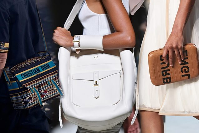 da sinistra Dior, Tom Ford, Burberry