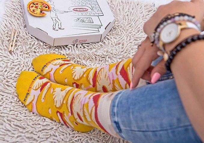 calzini pizza hawaiana