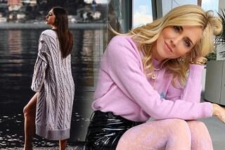 Cardigan e pull di cotone al posto della giacca: il trend per la primavera 2019