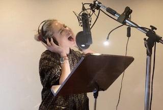 Chiara Ferragni in studio di registrazione: l'influencer si dà alla musica?