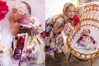 Sorelle in coordinato: Jessica Simpson presenta Birdie Mae, la neonata veste come la sorella