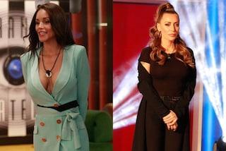 Scollatura hot per Delia Duran e total black per Karina Cascella nella seconda puntata del GF 16