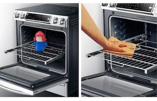 La soluzione per pulire forno, microonde e frigo senza sforzo e detersivi