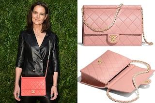 La borsa con le perle di Katie Holmes è l'accessorio must per la primavera 2019