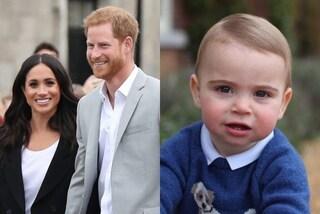 Meghan Markle e il principe Harry, gli auguri per il primo anno di Louis sono contro l'etichetta