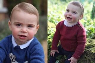 Il principe Louis compie un anno, le foto ufficiali del figlio di William e Kate incantano il web