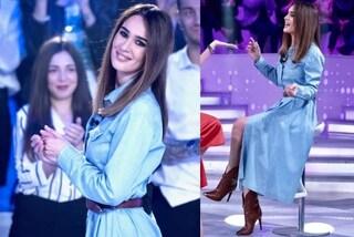 Silvia Toffanin è country in primavera: addio abiti eleganti, a Verissimo jeans e camperos