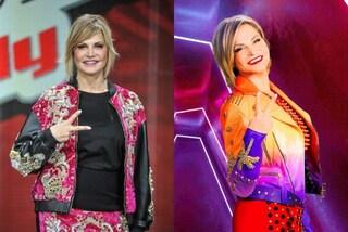 Simona Ventura a The Voice, il ritorno in Rai è rock