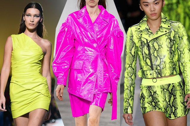 da sinistra Versace, DROMe, Off–White