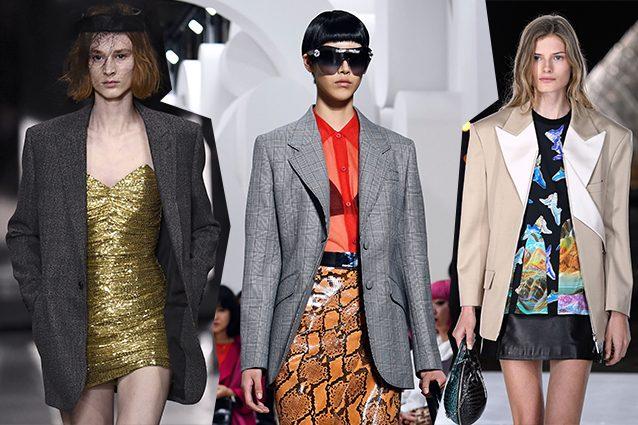 da sinistra Celine, Miu Miu, Louis Vuitton