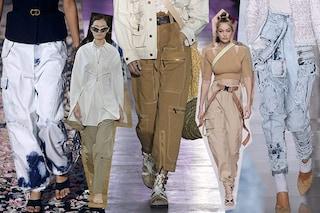 Il Cargo è di moda, i pantaloni più trendy della Primavera/Estate 2019 hanno le tasche
