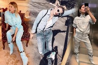 Total denim look: la tendenza per la primavera è vestire solo con capi di jeans