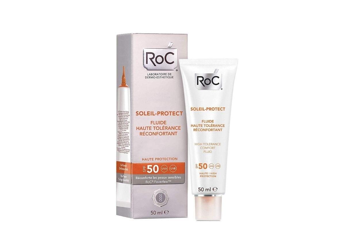 Crema solare viso SPF 50 Roc