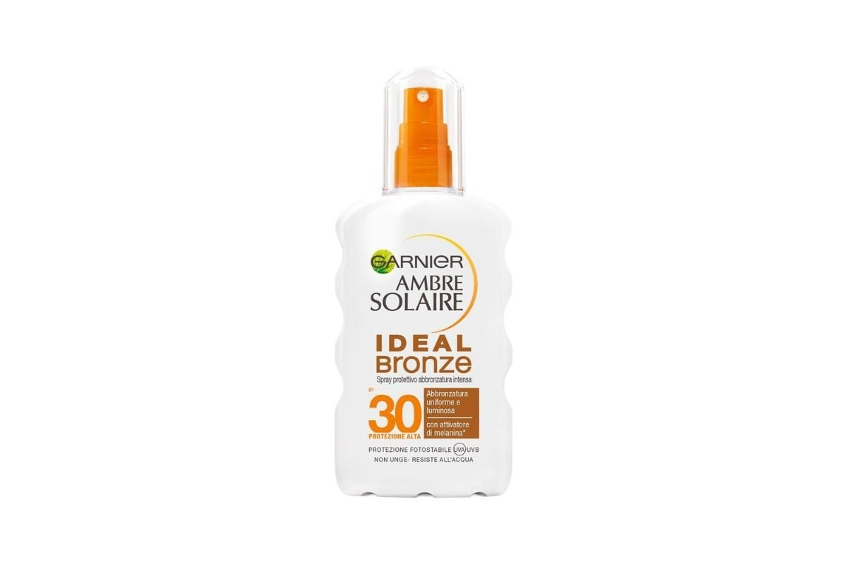 Garnier Ambre Solaire Ideal Bronze spray protettivo IP 30