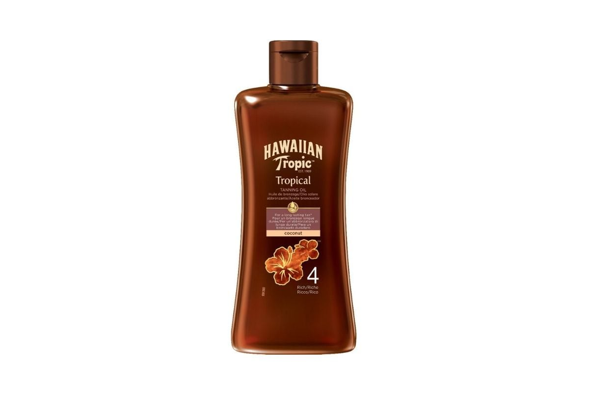 Hawaiian Tropic Tropical Tanning Oil SPF 4