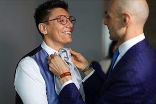 """L'abito della Battaglia alle nozze con la Grimaldi criticato sul web: Miccio """"Imma si veste da Imma"""""""