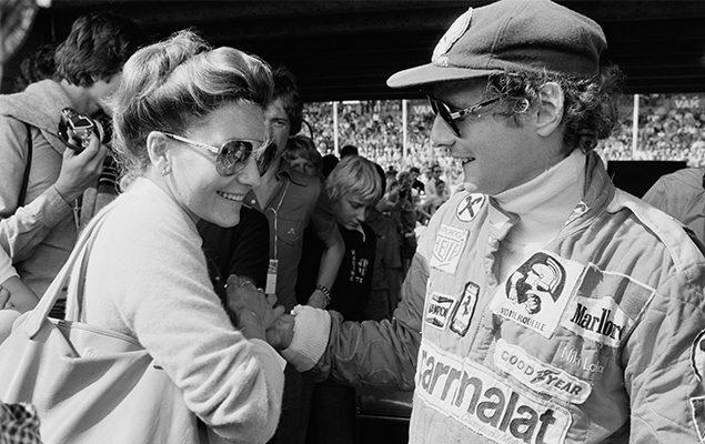 Niki Lauda e la sua prima moglie Marlene Knaus