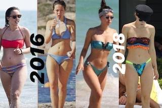 Aurora Ramazzotti mostra le foto prima e dopo la perdita di peso