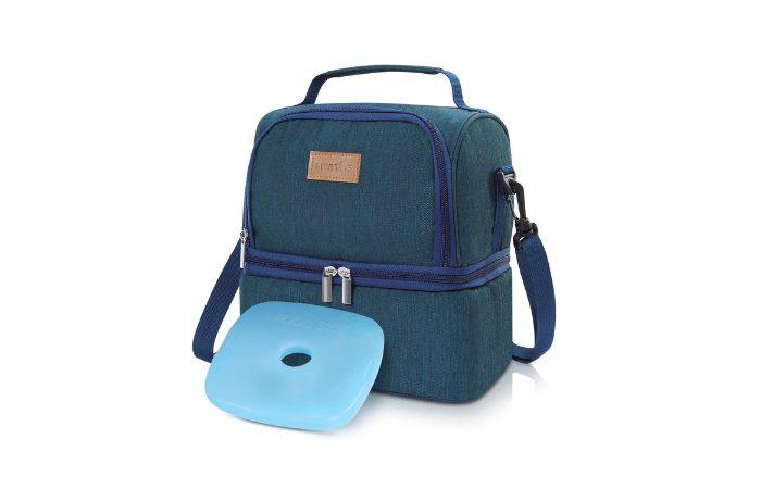 1806d0fede Questa borsa termica è utile sia per tenere in caldo, sia per tenere in  fresco le pietanze. I diversi contenitori di cibo possono essere conservati  anche ...