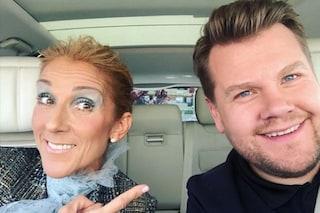 "Céline Dion al Carpool Karaoke rivela: ""Ho 10mila scarpe"", poi le regala ai passanti in strada"