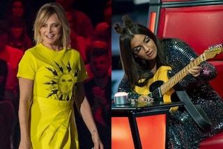 Ecco perché la Ventura ed Elettra Lamborghini indossano sempre gli stessi abiti a The Voice