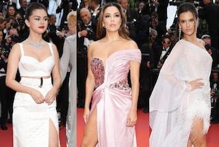 Festival di Cannes 2019, dalla Gomez alla Longoria: tutte con il maxi spacco nella serata inaugurale