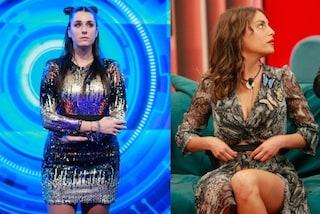 Grande Fratello 16: Valentina Vignali con paillettes (e trucco sciolto), Francesca De André pitonata