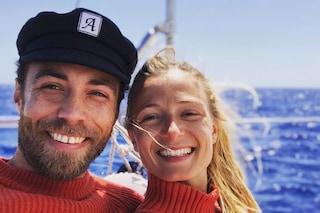 James Middleton presenta la fidanzata Alizee Thevenet: foto in barca a vela e look coordinati