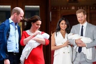 Meghan Vs. Kate, foto post-parto a confronto: le principesse hanno uno stile opposto
