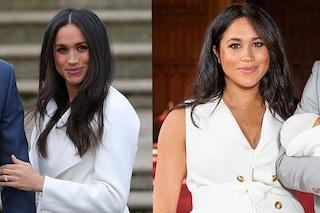 Meghan Markle prima e dopo il parto: la Duchessa raggiante e meravigliosa ieri come oggi