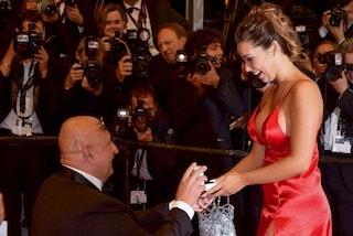 Il Festival di Cannes diventa romantico con la proposta di matrimonio sul red carpet
