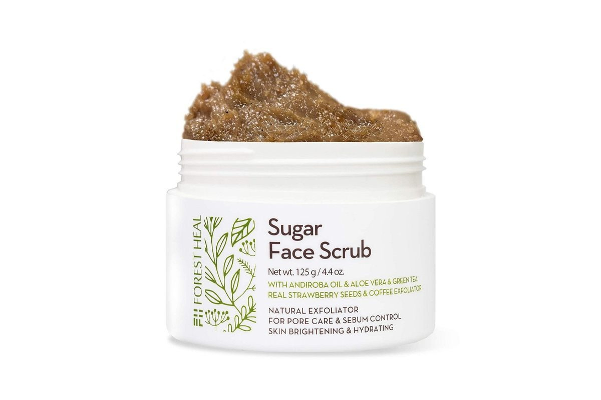 Forest Heal Sugar Face Scrub