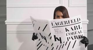 Il make-up di Karl Lagerfeld: dopo la morte dello stilista arriva la prima collezione di trucco