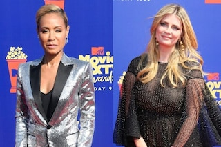 MTV Movie & TV Awards, Jada Pinkett Smith in paillettes, Mischa Barton con il maxi abito coprente
