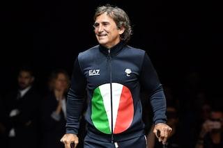I campioni paralimpici sfilano alla Fashion Week, sarà Giorgio Armani a vestirli a Tokyo 2020