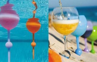 Beach Glass: arriva il bicchiere galleggiante da portare in spiaggia