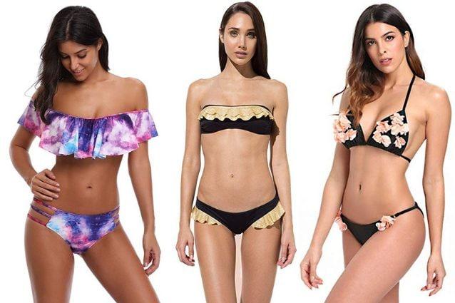 53e6c944ee Costumi per seno piccolo 2019: i modelli di bikini push up, le fasce ...