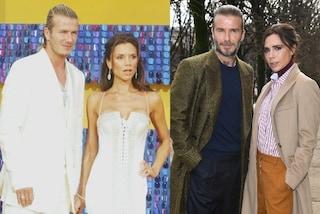 David e Victoria Beckham, dopo 20 anni di matrimonio ancora icone di stile: ecco come sono cambiati