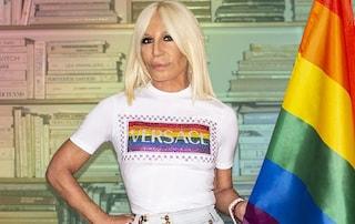 Versace è arcobaleno: Donatella testimonial del World Pride
