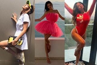 Tutte pazze per la Flamingo pose, da Kendall Jenner a Beyoncé: ecco la posa trendy dell'estate 2019