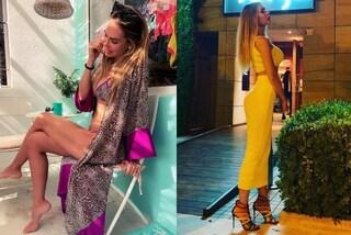 """Ilary Blasi """"mamma in libera uscita"""": per le vacanze a Ibiza abbina il bikini al kimono"""