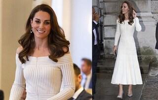Kate Middleton, dal look di campagna a quello da principessa ma l'abito è riciclato