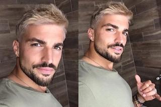 Mariano Di Vaio cambia look, per l'estate l'influencer passa ai capelli biondi