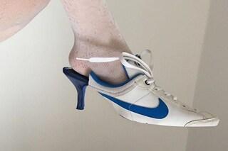 Metà sneaker, metà scarpa col tacco: i modelli riciclati saranno il nuovo trend per l'estate?