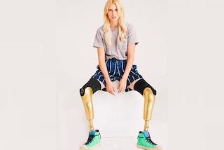 Lauren Wasser, la modella che ha perso le gambe con un assorbente, ritornerà a correre