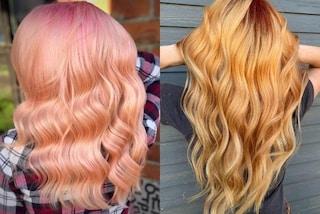 Peach blonde, il colore di capelli più trendy dell'estate 2019 è ispirato alle pesche
