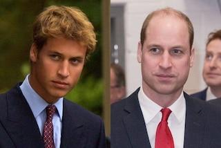 Il principe William ieri e oggi: ecco com'è cambiato l'erede al trono britannico